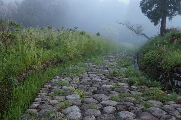 旧東海道菊川坂石畳