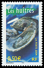 TIMBRES-GASTRONOMIE-HUITRES