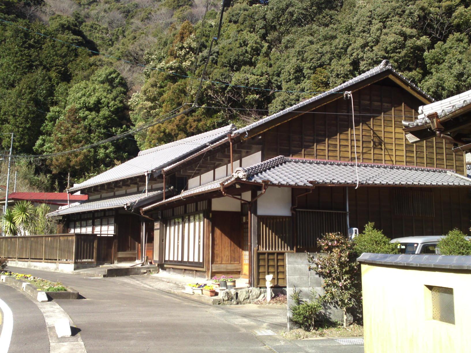 Traditional Japanese Houses and Inns in Utsunoya Shizuoka City  SHIZUOKA PICTURES