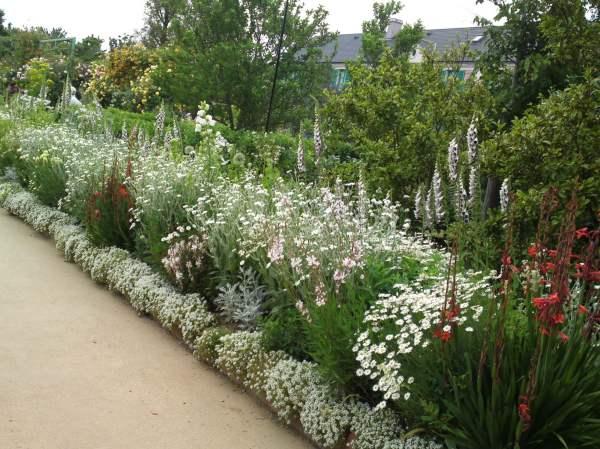 flower alleys hedges squares
