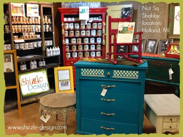 Shizzle Design American Paint Company chalk clay paint retailer grand rapids michigan painted furniture best