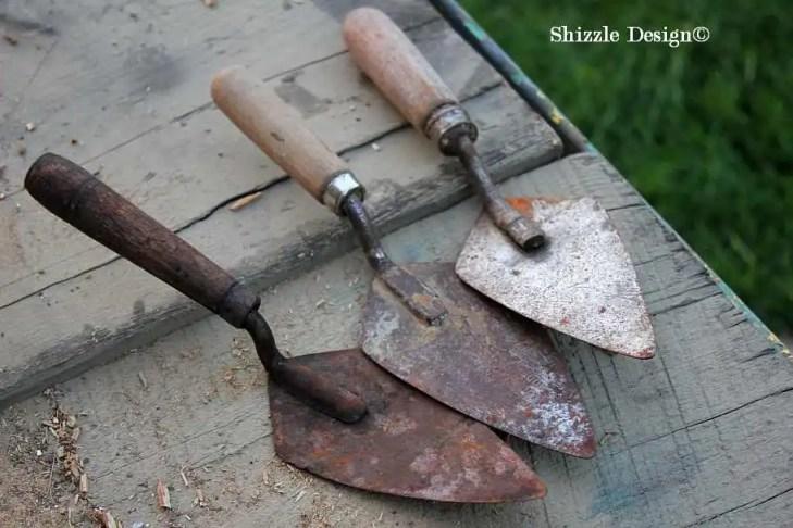 Shizzle Design re-purposed junk reclaimed barn wood hooks antique vintage hooks