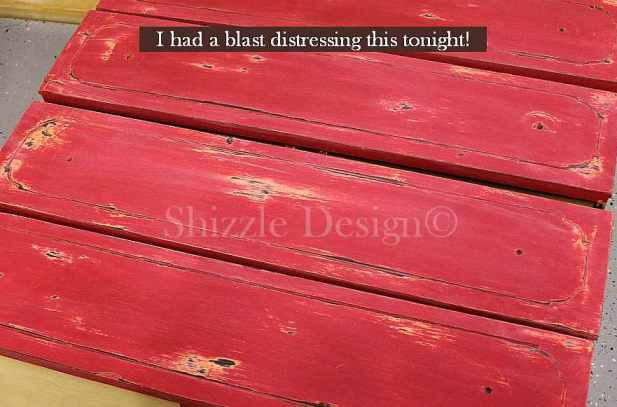 Fireworks Red Shizzle Design Paint Studio American Paint Company highboy chalk clay dresser best ideas tips layering 6 Orange Grove