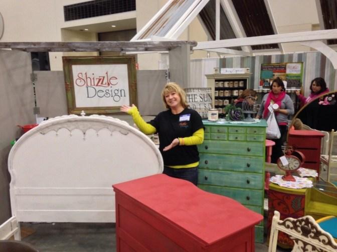 2014 West Michigan's Women's Expo Shizzle Design painted furniture American Paint company chalk clay mineral Paints 2018 Chicago Dr Jenison, MI  49428 DeVos Grand Rapids 10 - Copy - Copy - Copy