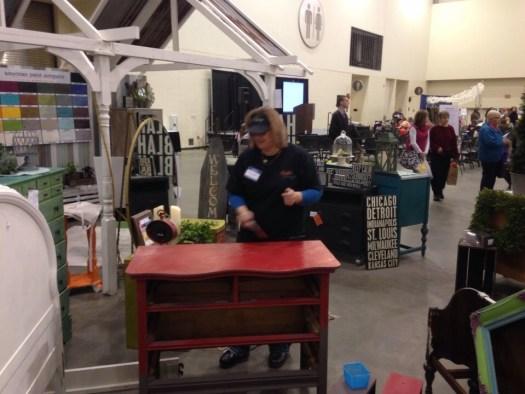 2014 West Michigan's Women's Expo Shizzle Design painted furniture American Paint company chalk clay mineral Paints 2018 Chicago Dr Jenison, MI  49428 DeVos Grand Rapids 13 - Copy - Copy - Copy