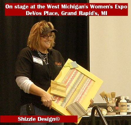 2014 West Michigan's Women's Expo Shizzle Design painted furniture American Paint company chalk clay on stage 2018 Chicago Dr Jenison, MI  49428 DeVos Grand Rapids 22 - Copy - Copy
