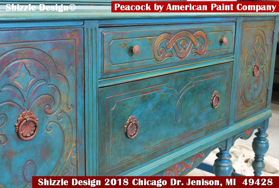 charming antique white wash furniture | Shizzle Design | Give the Gift of Creativity with Shizzle ...