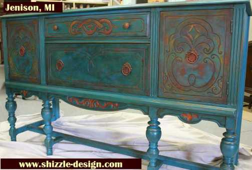Hand Painted Furniture Royal Grand Rapids