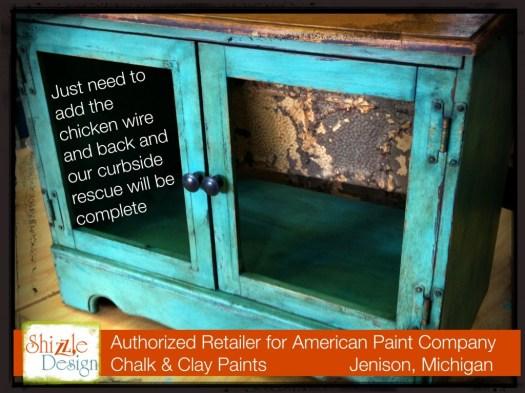 Shizzle Design Painted Furniture American Paint Company Retailer Grand Rapids, MI Beach Glass chalk paint Michigan dark wax