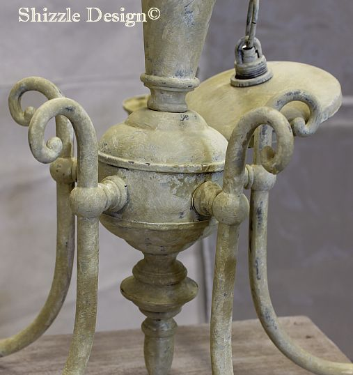 shizzle design candelier american paint company chalk clay paints chalk clay paint lighting ideas