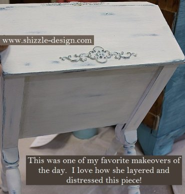Learn how to layer colors chalk clay paints Shizzle Style furniture paint workshop Jenison MI American Paint Company Paints best ideas 2