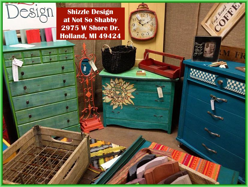 Look What 39 S New At Shizzle Design Painted Chalk Clay Furniture For Sale In West Michigan