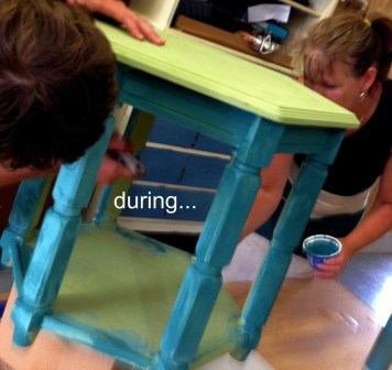 August chalk paint colors DIY ideas inspiration Shizzle Design painted furniture table workshops best class during