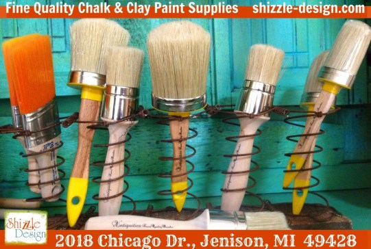 Shizzle Design high quality best chalk and clay paint brush available online shizzle 2018 Chicago Drive Jenison MI 49428
