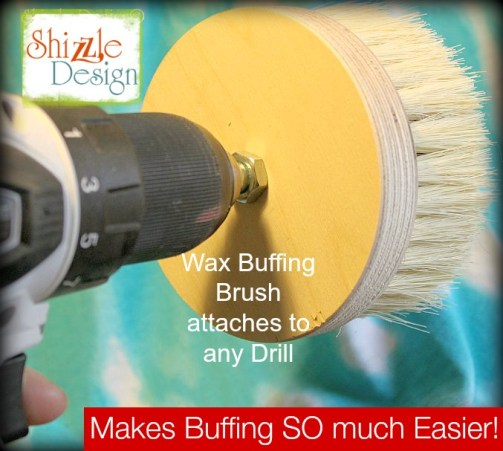 drill attachment wax buffing brush shizzle design