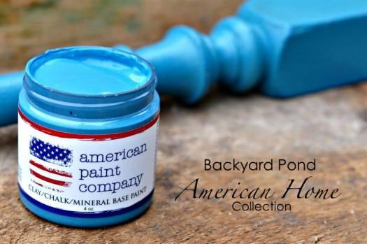 American Home Collection - Backyard Pond