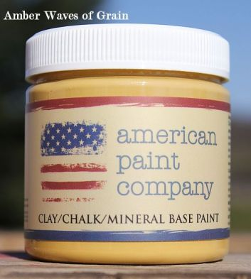 American Paint Company's Sample Pots Shizzle Design Amber Waves of Grain