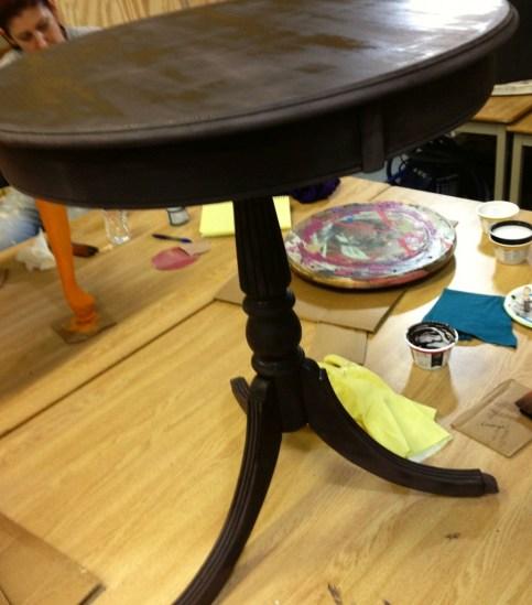 May best chalk clay paint workshop grand rapids MI Shizzle Design base coat American Paint Company Wild Horses