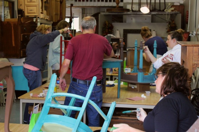 best chalk clay paint classes Grand Rapids Jenison Michigan DIY how to ideas color inspiration painted furniture workshops 4