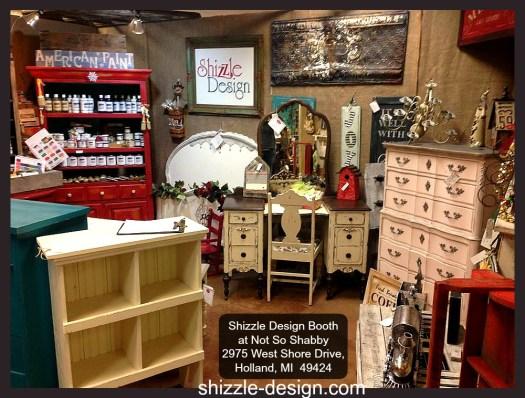 NSS Dec 2014 sale Shizzle Design painted furniture home decor Not So Shabby chalk paint supplies 1