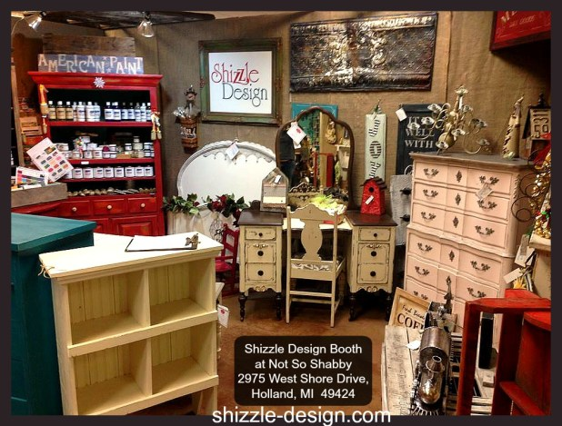 NSS Dec 2014 sale Shizzle Design painted furniture home decor Not So Shabby chalk paint supplies 1