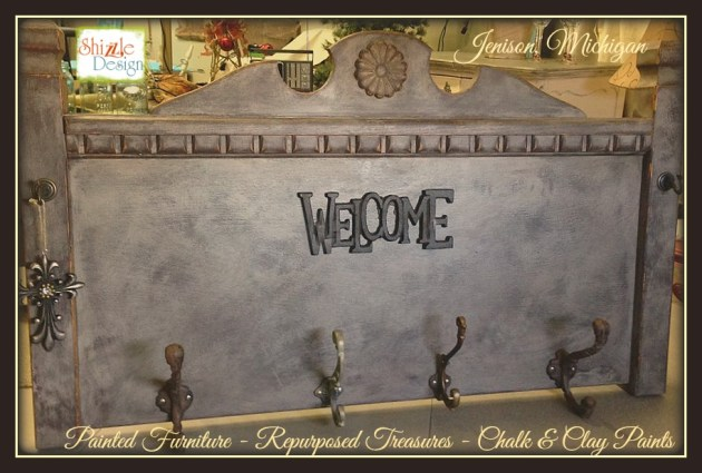 re-purposed headboard ideas painted chalk paint shizzle design furniture michigan retailer 2