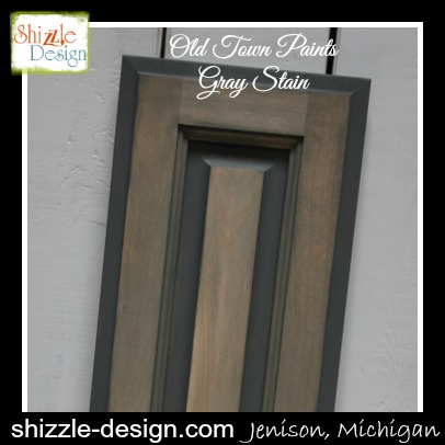 Stain - Gray Stain by Old Town Paints Shizzle Design Grand Rapids Michigan Retailer where to buy chalk paint largest selection cabinet door