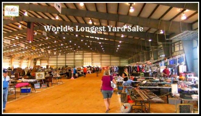 Shizzle Design | Pickin' The World's Longest Yard Sale on