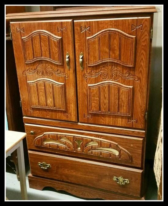 Armoire dresser storage cabinet