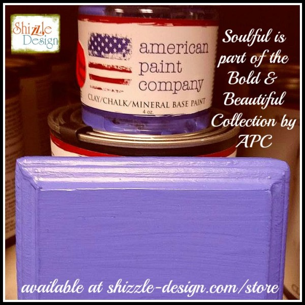 Bold Beautiful Collection by American Paint Company Chalk Clay Paint Shizzle Design retailer Grand Rapids Michigan - Soulful, medium lavender, purple