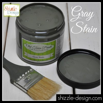 Stain - Gray Stain by Old Town Paints Shizzle Design Grand Rapids Michigan Retailer where to buy chalk paint largest selection