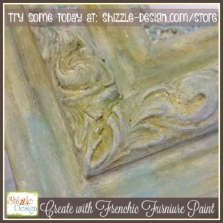 beautifully layer chalk paint colors using Frenchic Furniture paint easy to use shizzle design