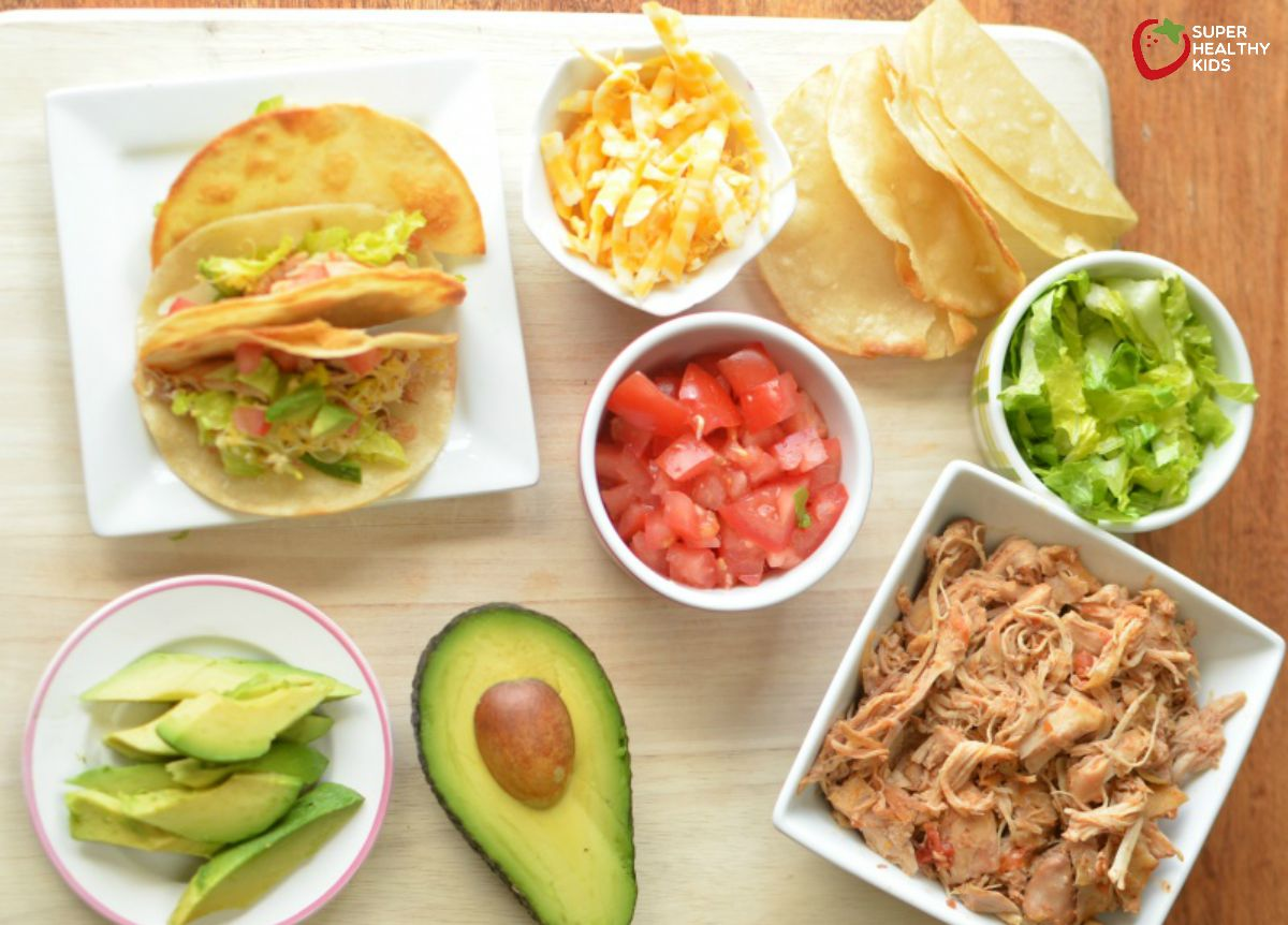 Crockpot Chicken Taco Recipe Healthy Ideas For Kids