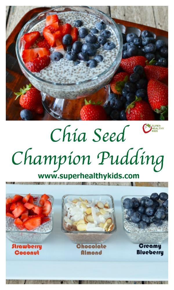 Almond Milk Pudding Seed Chia
