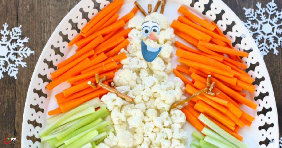 Frozen Party Veggie Tray