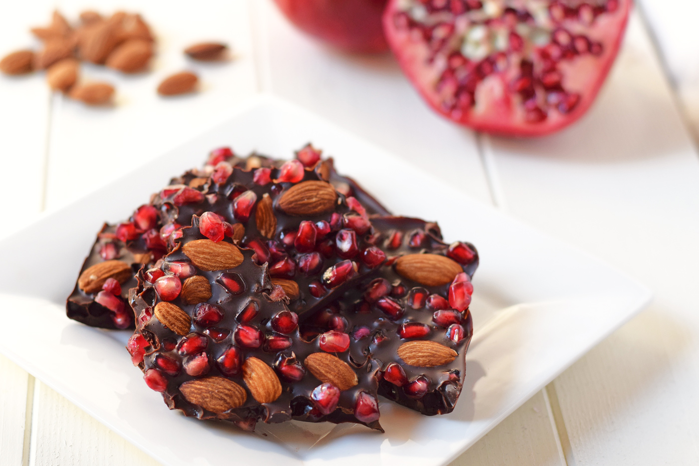 Chocolate Pomegranate Bark Healthy Ideas For Kids