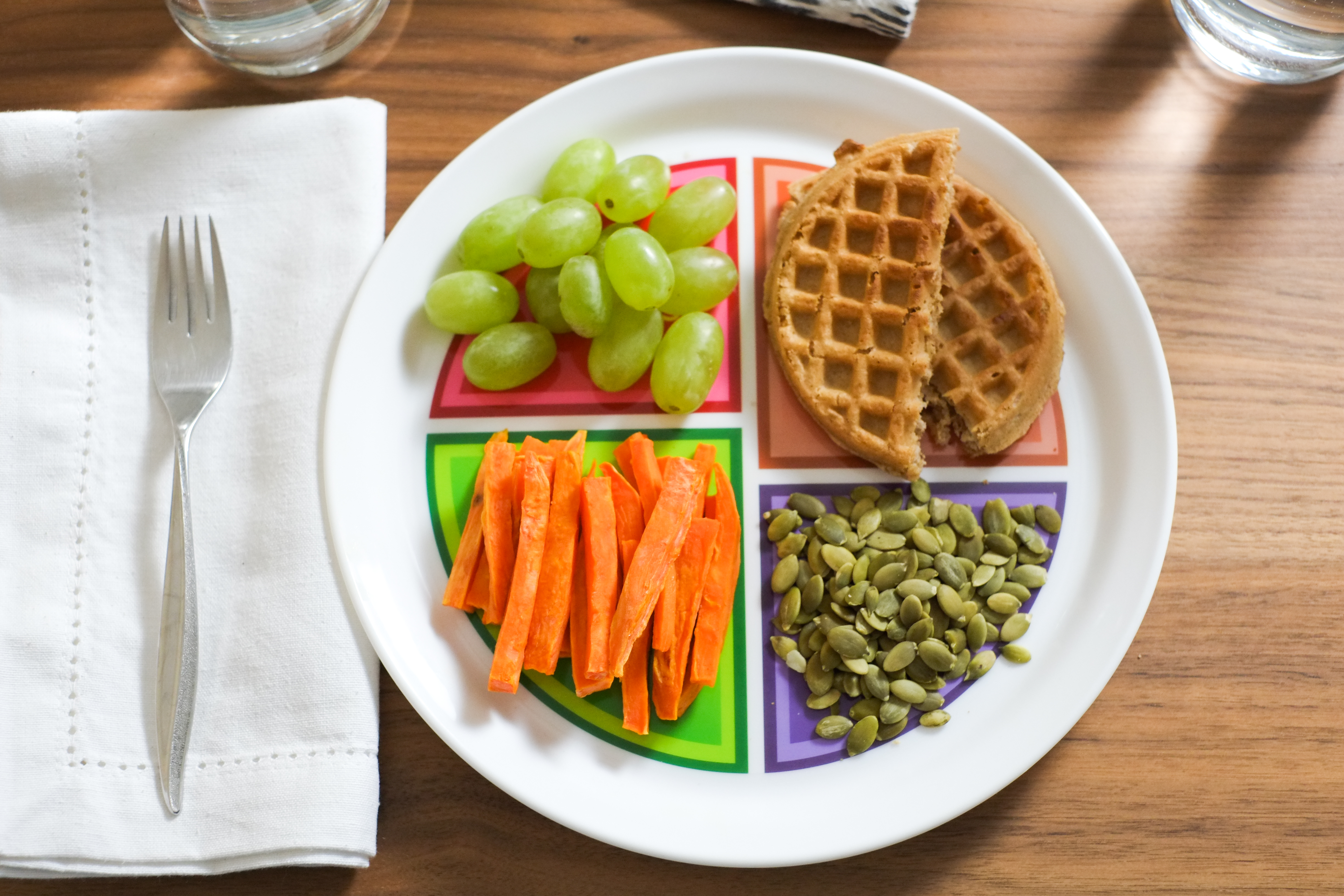 Myplate Adult And Teen Plate 4 Pack