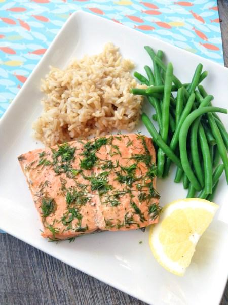 10-minute Instant Pot Salmon