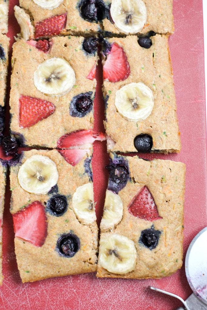 Fruit Amp Veggie Sheet Pan Pancakes Recipe Healthy Ideas