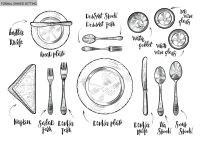 Table Manners for Kids! And a Meal Time Rules Printable ...