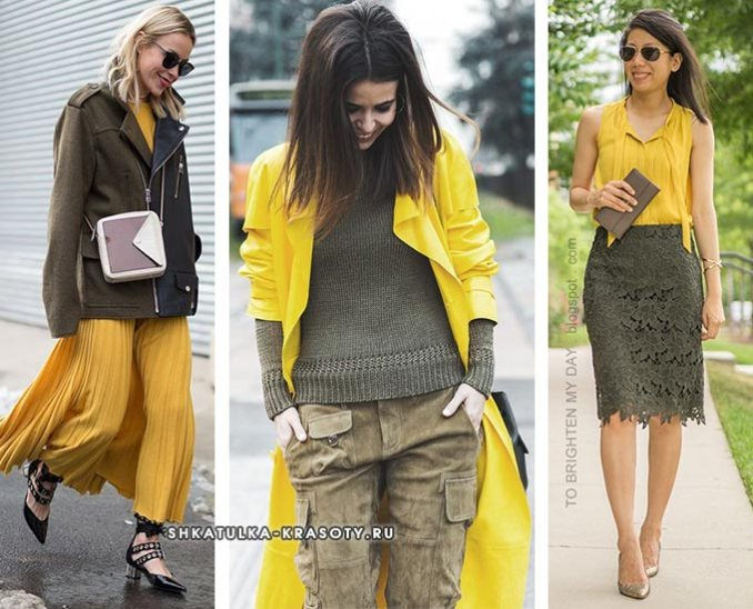 outfits with yellow