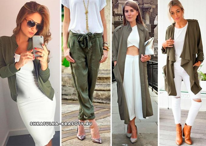 swamp jacket, pants, cardigan in images with white
