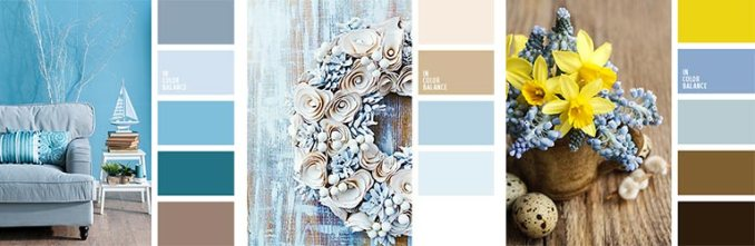 gray-blue or serenity combination palette