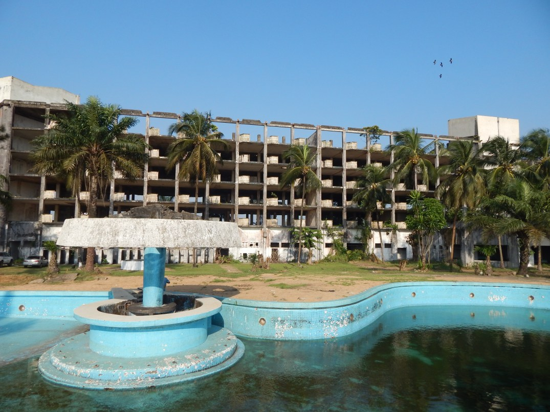 The Once Majestic Hotel Africa Virginia Liberia Minimalism