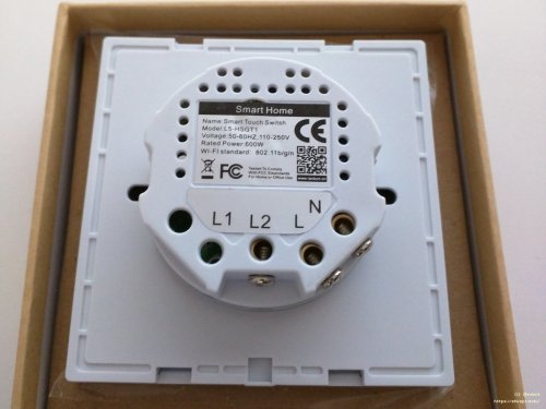 small resolution of lanbon wifi light switch back