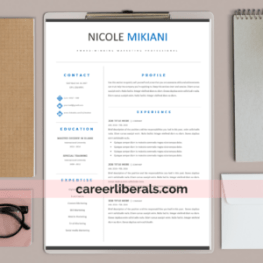 resume template library