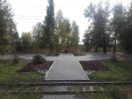 Аллея памяти павших воинов-сибиряков, сентябрь 2015