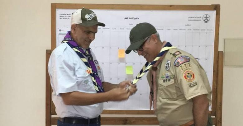 Photo of توقيع مذكرة شراكة بين الكشفية الحسنية المغربية و كشافة نيويورك (Boy Scouts of America troop 777)
