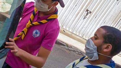 Photo of فرع غاندي الدار البيضاء يواصل توزيع قفة رمضان
