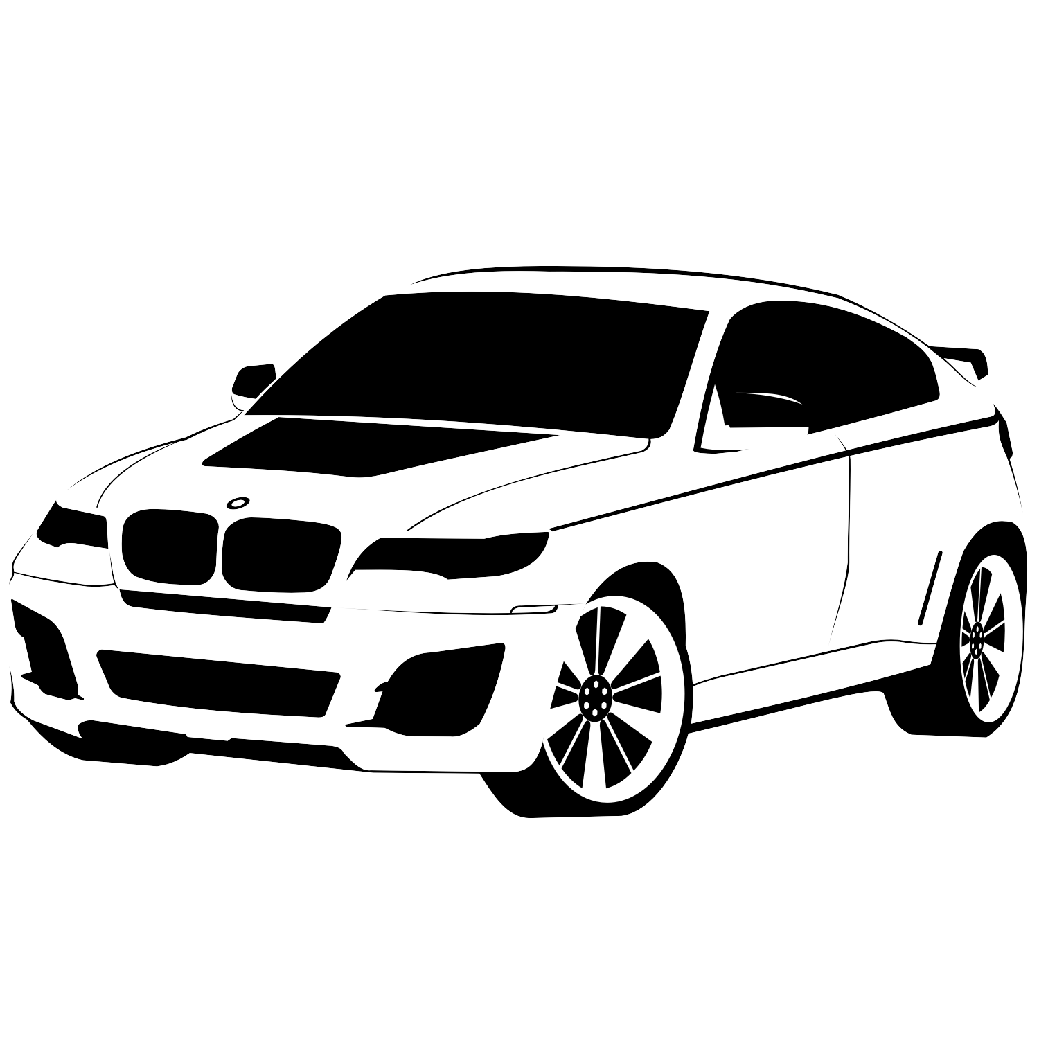 Vector For Free Use Bmw X6